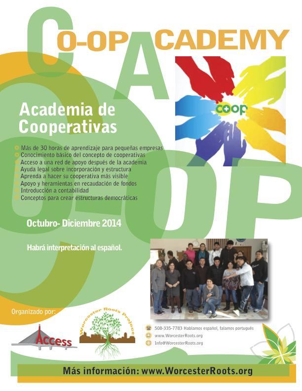 Co-op Academy Flyer ESP 9-2-14